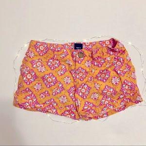   Gap Kids   bright pattern shorts
